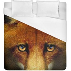 Fox Duvet Cover (king Size) by Simbadda