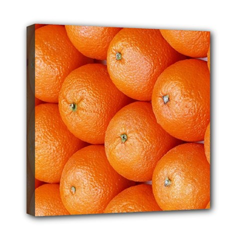 Orange Fruit Mini Canvas 8  X 8  by Simbadda