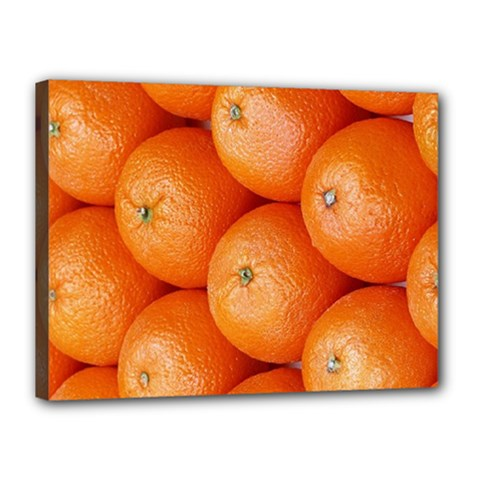 Orange Fruit Canvas 16  X 12  by Simbadda