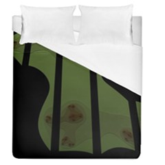 Fractal Prison Duvet Cover (queen Size) by Simbadda