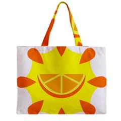 Citrus Cutie Request Orange Limes Yellow Medium Tote Bag by Alisyart