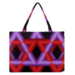 Star Of David Medium Zipper Tote Bag by Simbadda