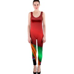 Fractal Construction Onepiece Catsuit by Simbadda
