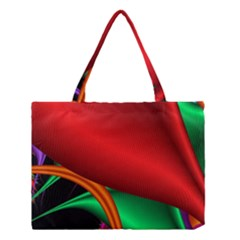 Fractal Construction Medium Tote Bag by Simbadda