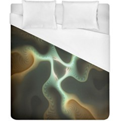 Colorful Fractal Background Duvet Cover (california King Size) by Simbadda