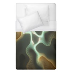 Colorful Fractal Background Duvet Cover (single Size) by Simbadda