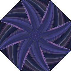 Purple Fractal Folding Umbrellas by Simbadda
