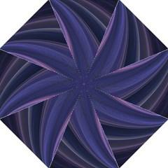 Purple Fractal Golf Umbrellas by Simbadda