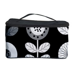 Floral Pattern Seamless Background Cosmetic Storage Case by Simbadda