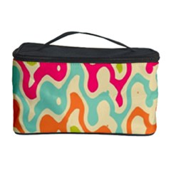 Abstract Pattern Colorful Wallpaper Cosmetic Storage Case by Simbadda