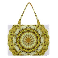 Fractal Flower Medium Tote Bag by Simbadda