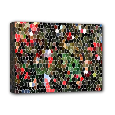 Colorful Abstract Background Deluxe Canvas 16  X 12   by Simbadda