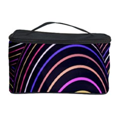 Abstract Colorful Spheres Cosmetic Storage Case by Simbadda
