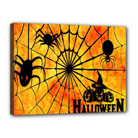 Halloween Weird  Surreal Atmosphere Canvas 16  X 12  by Simbadda