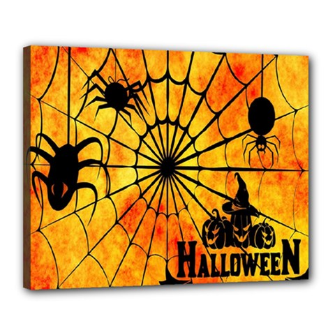 Halloween Weird  Surreal Atmosphere Canvas 20  X 16  by Simbadda
