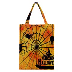 Halloween Weird  Surreal Atmosphere Classic Tote Bag by Simbadda