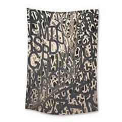 Wallpaper Texture Pattern Design Ornate Abstract Small Tapestry by Simbadda