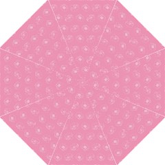Pink Pattern Straight Umbrellas by Valentinaart