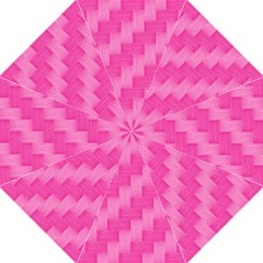Pink Pattern Folding Umbrellas by Valentinaart