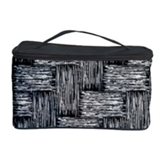 Gray Pattern Cosmetic Storage Case by Valentinaart