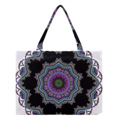 Fractal Lace Medium Tote Bag by Simbadda