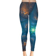 Fractal Star Leggings  by Simbadda