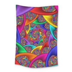 Color Spiral Small Tapestry by Simbadda