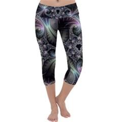 Beautiful Curves Capri Yoga Leggings by Simbadda