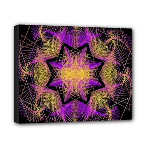 Pattern Design Geometric Decoration Canvas 10  X 8  by Simbadda