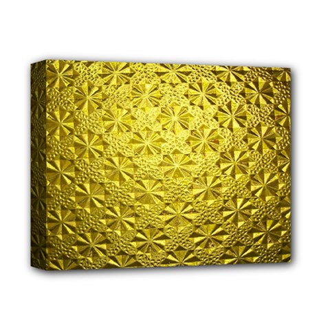 Patterns Gold Textures Deluxe Canvas 14  X 11  by Simbadda