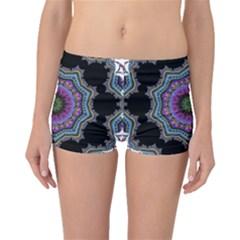 Fractal Lace Boyleg Bikini Bottoms by Simbadda