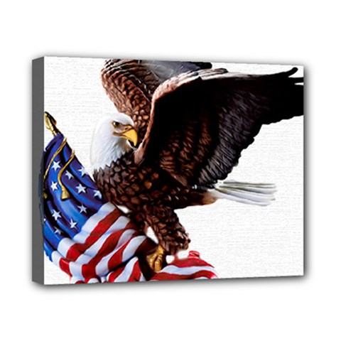 Independence Day United States Canvas 10  X 8  by Simbadda