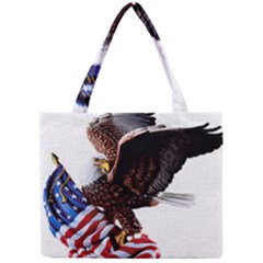 Independence Day United States Mini Tote Bag by Simbadda