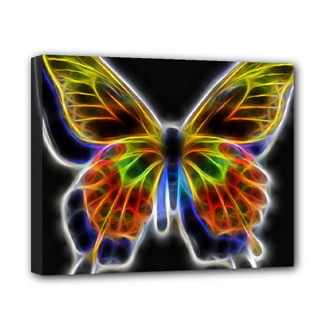 Fractal Butterfly Canvas 10  X 8  by Simbadda