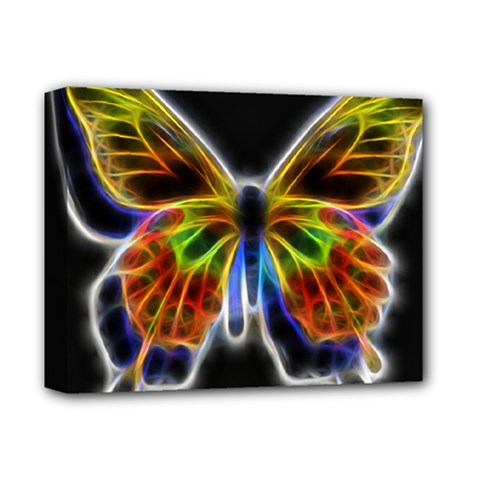 Fractal Butterfly Deluxe Canvas 14  X 11  by Simbadda