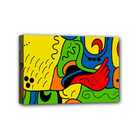 Mexico Mini Canvas 6  X 4  by Valentinaart