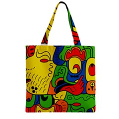 Mexico Zipper Grocery Tote Bag by Valentinaart