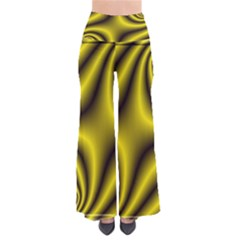 Yellow Fractal Pants by Simbadda