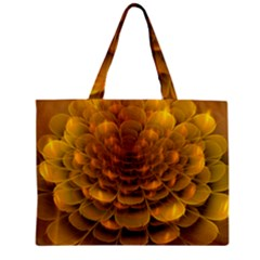 Yellow Flower Mini Tote Bag by Simbadda