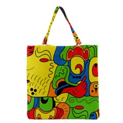 Mexico Grocery Tote Bag by Valentinaart