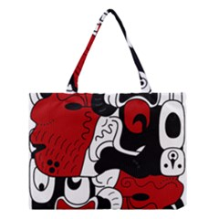 Mexico Medium Tote Bag by Valentinaart