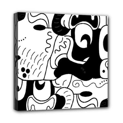 Mexico Mini Canvas 8  X 8  by Valentinaart