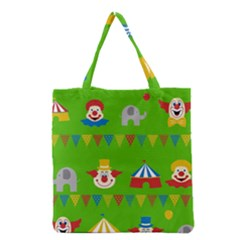 Circus Grocery Tote Bag by Valentinaart