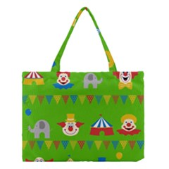 Circus Medium Tote Bag by Valentinaart