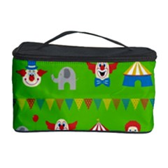 Circus Cosmetic Storage Case by Valentinaart