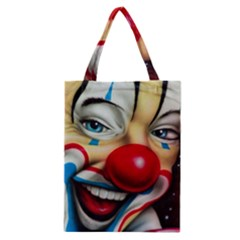 Clown Classic Tote Bag by Valentinaart