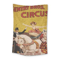 Vintage Circus  Small Tapestry by Valentinaart
