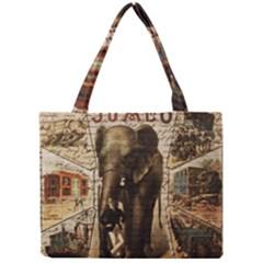 Vintage Circus  Mini Tote Bag by Valentinaart