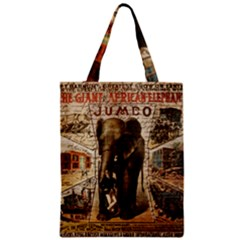 Vintage Circus  Zipper Classic Tote Bag by Valentinaart