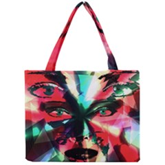 Abstract Girl Mini Tote Bag by Valentinaart